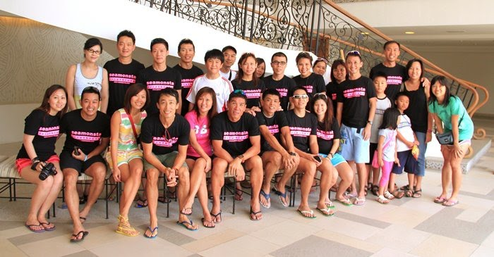 Team Seamonsta @ Port Dickson Triathlon